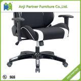 رخيصة سعر الصين مصنع [بو] جلد بيضاء سوداء قمار حاسوب كرسي تثبيت (مسدّس)