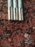 Камень диаманта паяемый вакуумом высекая механические инструменты CNC