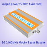 aumentador de presión móvil 3G Amplifier+Yagi de la señal del teléfono celular 2100MHz para el uso del hogar y de la oficina