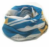 Fabrik Soem-Erzeugnis-kundenspezifisches Firmenzeichen druckte Polyester-elastisches Multifunktionsstutzen-Gefäß-Büffelleder Headwear