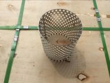 Cartuccia di filtro perforata dall'acqua della maglia del metallo