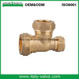 Tissu Pex-Al-Pex en laiton forgé en laiton / Pex Elbow (IC-1011)
