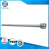 カスタマイズされたサイズの造られた合金の鋼鉄ピストン棒を機械で造るCNC