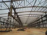 Estructura de acero de la alta calidad prefabricada del bajo costo para el taller (ZY233)