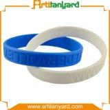 Bracelete de borracha do silicone da venda quente