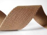 의복과 벨트를 위한 37mm 브라운 면 가죽 끈