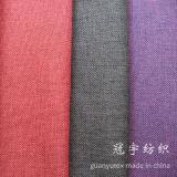 Fils de polyesters de toile de tissu de mèche d'imitation avec le support balayé