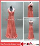 Robe de soirée Chiffon de bal d'étudiants de robe formelle de demoiselle d'honneur (AS4219)