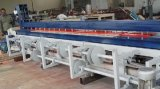 Dza4000 4000mmの長さ2-50mmの厚さプラスチックシートの溶接の圧延および曲がる機械