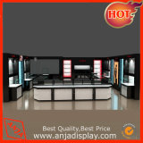 Cajas de cristal de las cabinas de visualización del almacén de las unidades de la estantería de la visualización del departamento