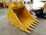 ヒュンダイR220のための掘削機の石のバケツ