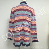 Пальто свитера новых девушок способа сладостных длиннее (SOI1749)