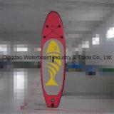 Il tipo su misura dei surf gonfiabile si leva in piedi in su il bordo di pala del Sup
