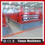 Rodillo de la hoja del material para techos de la capa doble que forma la máquina para los tipos de la hoja de Differet