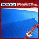 줄무늬 방수포 창 커튼 PVC 트럭 방수포 줄무늬