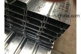 電流を通された表面が付いているUの鋼鉄チャネル