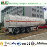 Kraftstoff Tanker Petrol Steel Oil Tank mit Running Chassis Semi Trailer