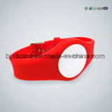 안전한 홈 ID 실리콘 소맷동 또는 의학 실리콘 팔찌