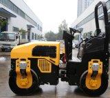 3 Tonnen-volles hydraulisches Schwingung-Doppelt-Trommel-Straßen-Rollen-Verdichtungsgerät (FYL-1200)