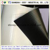 Bandiera posteriore della flessione del PVC Frontlit del nero (500*500D) per la pubblicità esterna
