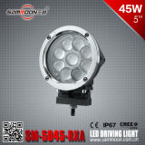 Cars (SM-5045-RXA)のための5W*9 45Wのクリー語Chip LED Round Driving Light