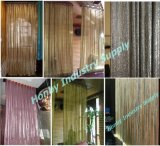 Customizable Metal Mesh Fabric (Curtain 의 룸 Divider, Table Cloth로)