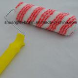 كومة حاشدة [18مّ] أحمر شريط [أكرليك بينت رولّر] مع مقبض أصفر بلاستيكيّة