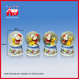 Boneco de neve Figures Water Globe do Natal com Blowing Snow