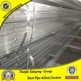 Tubo d'acciaio quadrato A36 di Q195 Pregalvanized