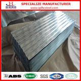 Galvalume 물결 모양 금속 지붕 장 가격