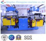 Machine de vulcanisation de double vide en caoutchouc de station
