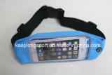 Bolso material modificado para requisitos particulares de moda de la cintura de Lycra para el iPhone