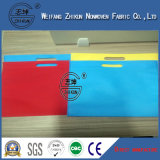 재생한 염색한 다채로운 Polypropylenen는 핸드백을%s 비 길쌈한 직물을 회전시키 접착시킨다