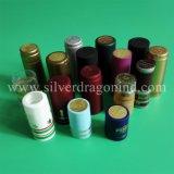 Tampões do Shrink do PVC da alta qualidade com carimbo quente na parte superior para Voldka