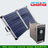 système de l'alimentation 100W solaire portatif (mini centrale électrique)