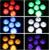 La IGUALDAD recargable sin hilos popular del LED puede luz del disco