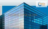 Escuro - vidro reflexivo azul de 4mm a 10mm