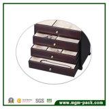 Коробка ювелирных изделий выдвиженческого высокого качества большая деревянная