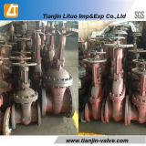 Ghighの品質Dn100中国のロシアの標準Wcbのゲート弁の製造業者