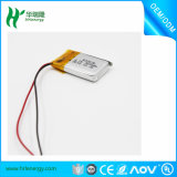 Grossistes de batterie d'ion de lithium 603030 500mAh 3.7V avec la carte