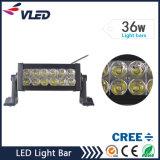 36W 2880lm zweireihig Flutpunkt LKW-Licht LED-Lichtleiste