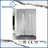 Quarto de chuveiro do banheiro e cerco simples de vidro do chuveiro (AE6832A)
