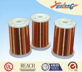 200 fios de esmalte redondos de alumínio Poliesterimida de 220 graus