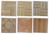 Reticolo di legno durevole delle mattonelle di pavimento del vinile del PVC di scatto 15-006