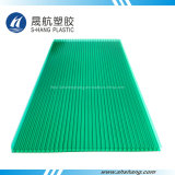 Blad van het Dakwerk van het Polycarbonaat van 100% het Verse Materiële UV Met een laag bedekte Holle