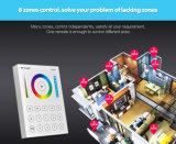Projeto novo e controlador remoto do painel esperto popular de 8-Zone RGB+CCT (B8)