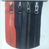 Chiusura lampo d'ottone del metallo di colore 3# 5# di vendita per i pattini/accessori dei pattini