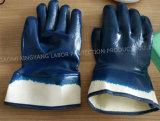 Gants de nitriles, protecteur de travail, gants de travail de sûreté