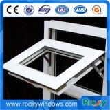 Энергосберегающее двойное окно PVC/UPVC пластмассы сползая стеклянное
