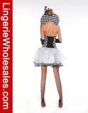 Ферзь платья шотландок партии Halloween женщин Costume сердца